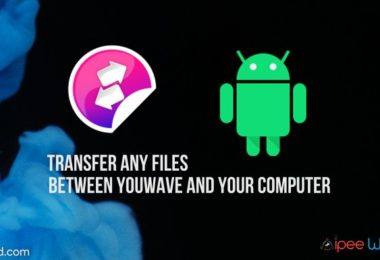 transfer files between youwave and computer