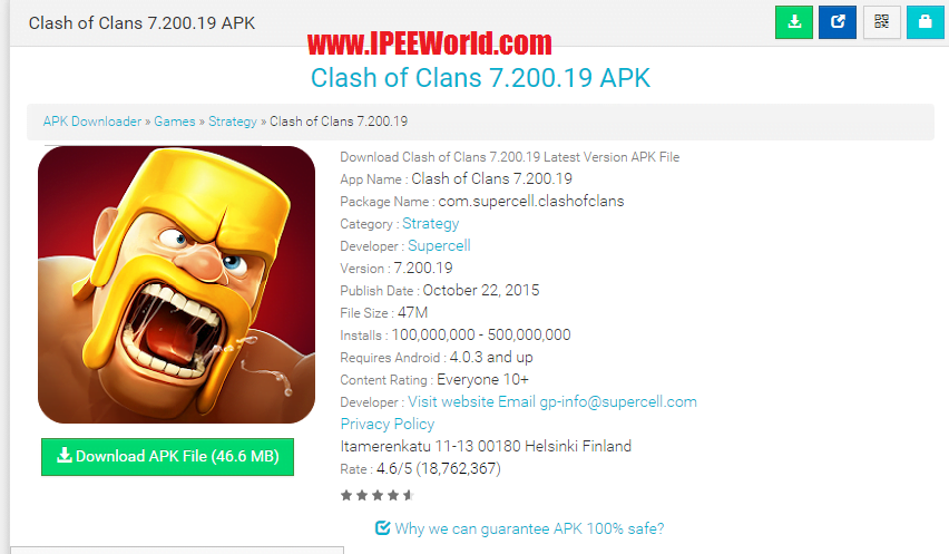 Download Apps from Google Play Store APK-DL