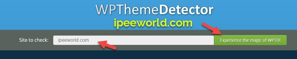 Find WordPress Theme