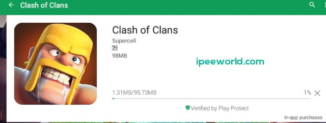 Downloading Clash of Clans for PC