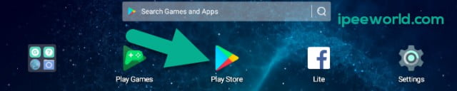 open play store