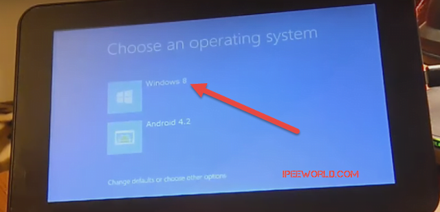 Choose OS - Android or Windows