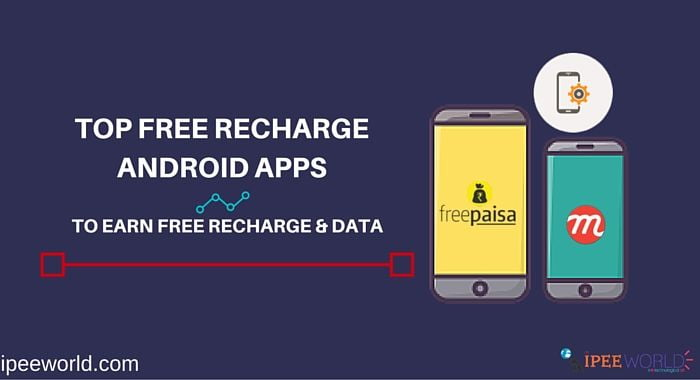 Top 10 Free Recharge Android Apps - 2019 [Get Rs 50 Instant]