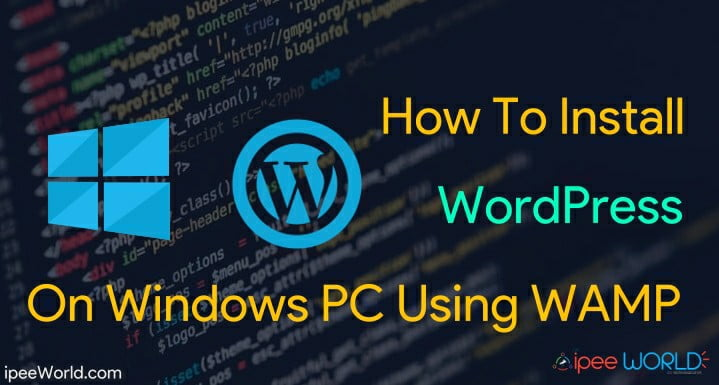 how to install -wordpress on pc with wamp