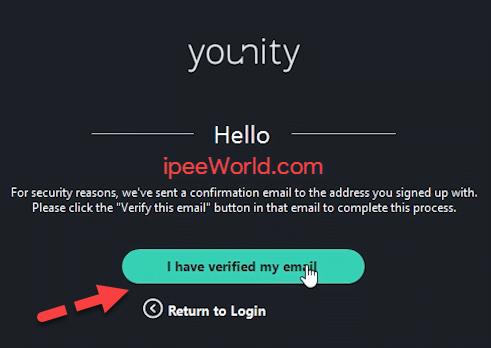 Verify Younity Account