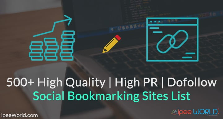 500+) Social Bookmarking Sites List High PR & Dofollow