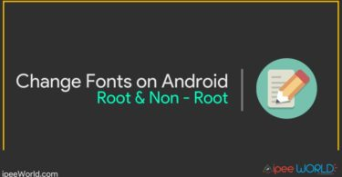 Change Fonts on Android