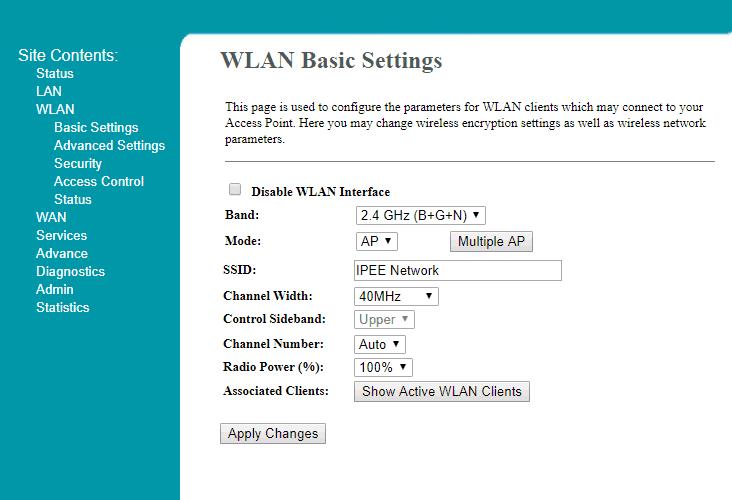 how to change wifi ssid