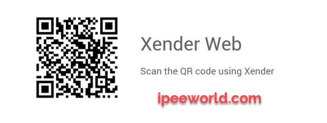 Xender PC QR Code
