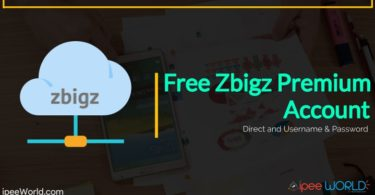 Free Zbigz Premium Account