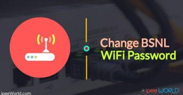 How To Change BSNL WiFi Password