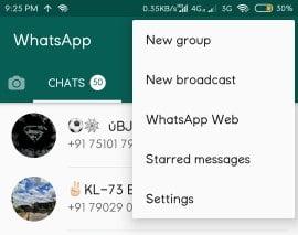WhatsApp DP Settings