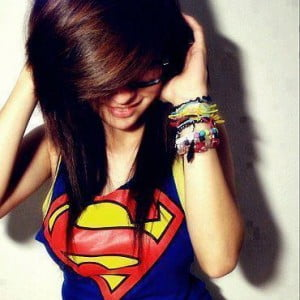 supergirl whatsapp dp