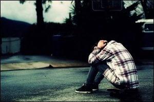 again alone