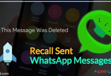 Recall Sent WhatsApp Messages