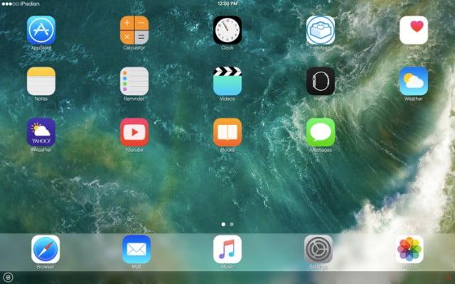 iPadian iOS Emulator