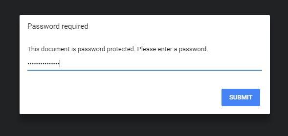 change pdf password online