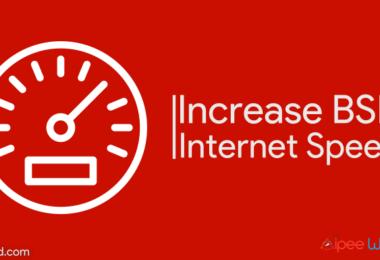 `Increase BSNL Broadband Speed