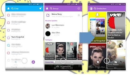 Get Old Snapchat Layout