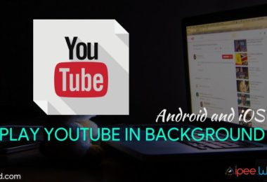Play Youtube in Background Android and iOS