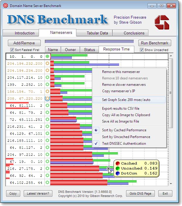 DNSBenchmark