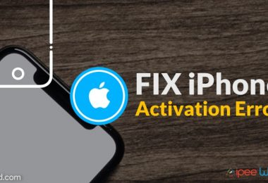 fix iphone activation error