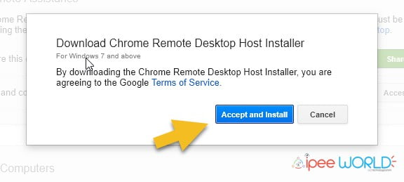 remote desktop host installer