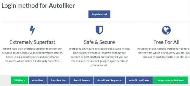 best facebook auto liker free