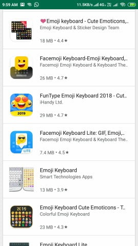 emoji keyboard apps