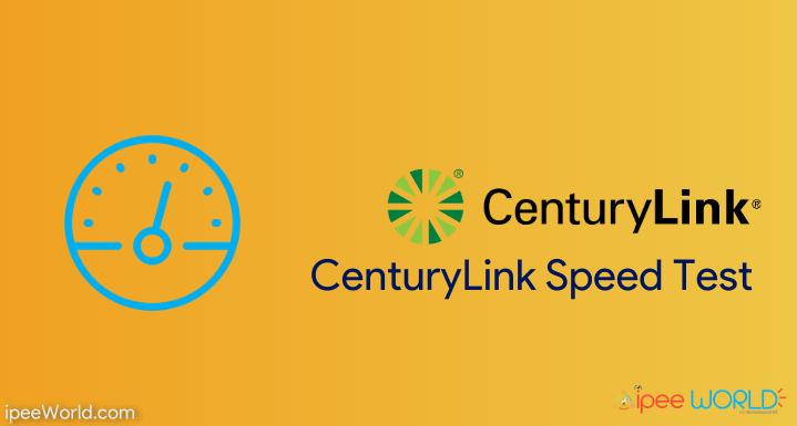 centurylink speed test fast