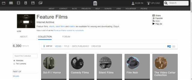 internet archive movie download