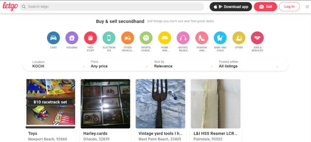 letgo craigslist alternative