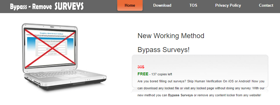 survey bypass
