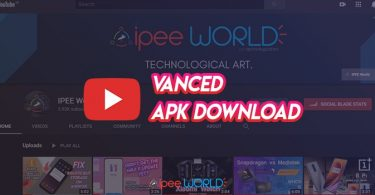 youtube vanced apk for android