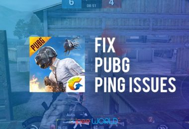 fix pubg ping issues