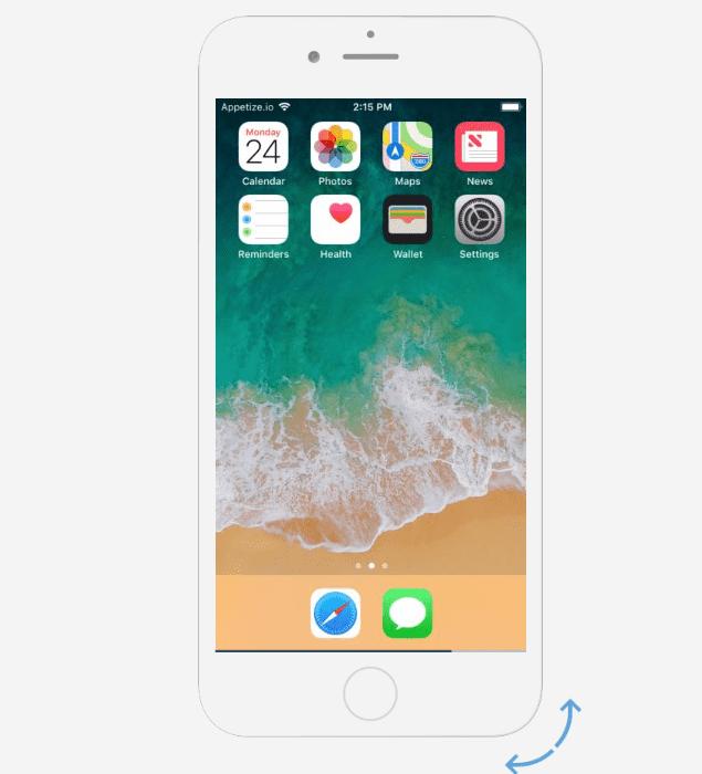 online iphone emulator
