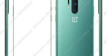 OnePlus 8 Leaked Renders