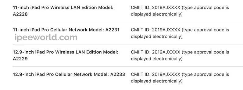 new 4 ipad leaks