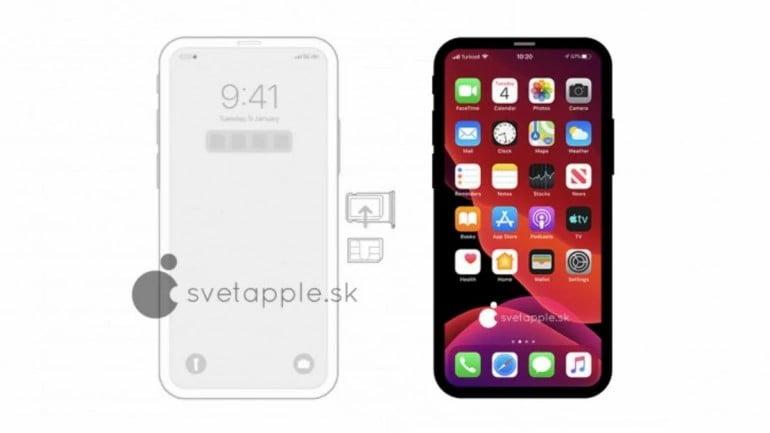 new iphone 12 render