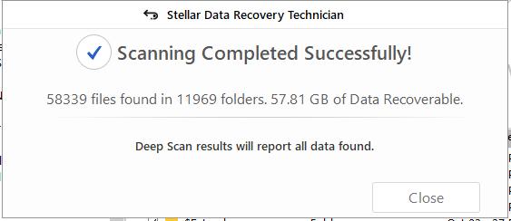 scan result