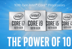intel core 10th gen processor launched