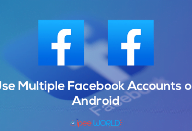 use multiple facebook accounts on android