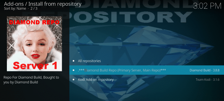 Diamond Wizard Kodi Repository
