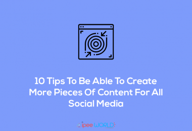 tips to create more content social media